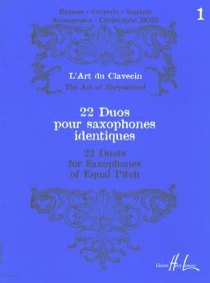- 22 Duos Pour Saxophones Identiques Volume 1 - Partition - di-arezzo.fr