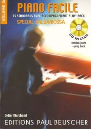 - Easy Piano Volume 4 - Special Salsa / Bossa - Sheet Music - di-arezzo.co.uk