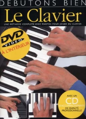 Débutons Bien le Clavier - Jeff Hammer - Partition - laflutedepan.com