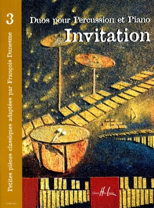 Invitation Volume 3 - Partition - di-arezzo.fr