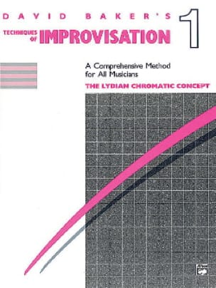 David Baker - Techniques Of Improvisation 1 - Sheet Music - di-arezzo.co.uk