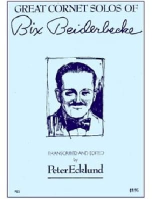 Bix Beiderbecke - Great Cornet Solos - Partition - di-arezzo.fr