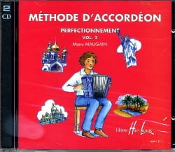 CD - Méthode d'Accordéon Volume 2 Manu Maugain Partition laflutedepan