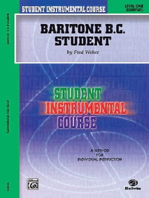 Fred Weber - Baritone BC Student Level Two - Elementary - Sheet Music - di-arezzo.co.uk