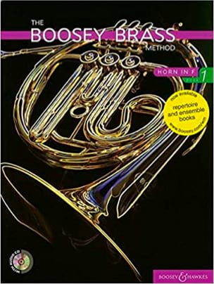 The Boosey Brass Method, Horn In F Book 1 avec 2 CDs laflutedepan