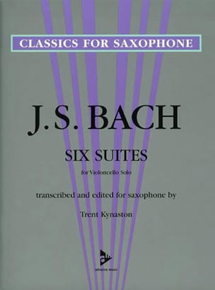 BACH - Six Suites For Violoncello Solo - Partition - di-arezzo.fr