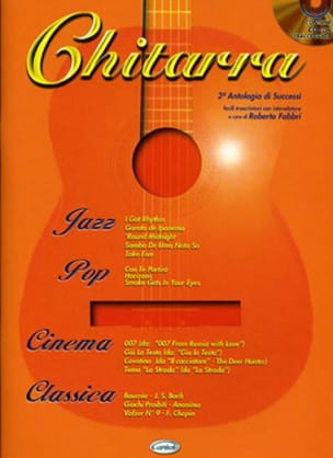Chitarra 2e Antologia Di Successi Partition Guitare - laflutedepan