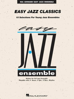 Easy Jazz Classics - Conducteur Partition ENSEMBLES - laflutedepan
