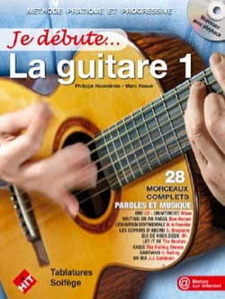 Je débute la Guitare Partition Guitare - laflutedepan