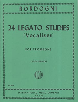 Marco Bordogni - 24 Legato Studies (Vocalises) - Partition - di-arezzo.fr
