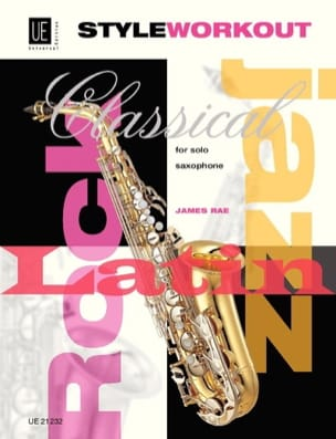 James Rae - Style Workout For Solo Saxophone - Partition - di-arezzo.fr
