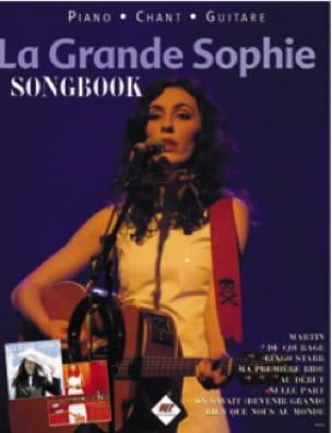 Sophie La Grande - Songbook - Partition - di-arezzo.fr