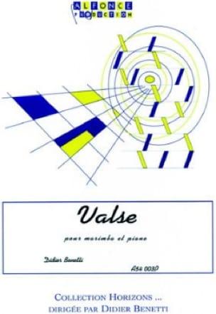 Didier Benetti - Waltz - Sheet Music - di-arezzo.co.uk