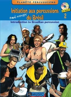 Paul Mindy - Initiation to Percussion Brazil Volume 2 - Sheet Music - di-arezzo.com