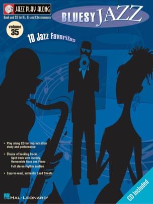 Jazz play-along volume 35 - Bluesy Jazz Partition laflutedepan