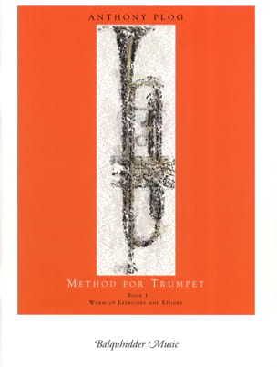 Method for trumpet book 1 Anthony Plog Partition laflutedepan