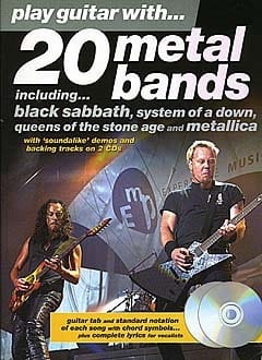 - Play Guitar With ... 20 Metal Bands - Sheet Music - di-arezzo.co.uk