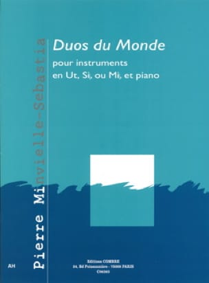 Pierre Minvielle-Sebastia - Duos of the world - Sheet Music - di-arezzo.com