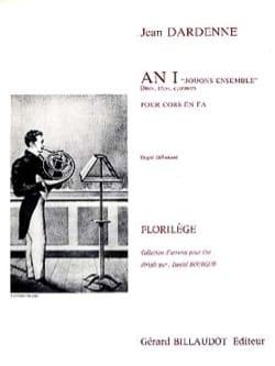 Jean Dardenne - An I Jouons Ensemble - Partition - di-arezzo.fr