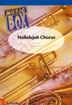 Georg Friedrich Haendel - Hallelujah chorus - music box - Partition - di-arezzo.fr