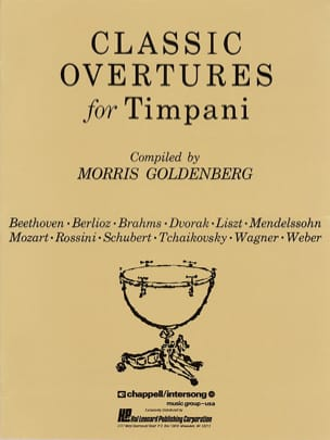 Classic Overtures For Timpani - Sheet Music - di-arezzo.com