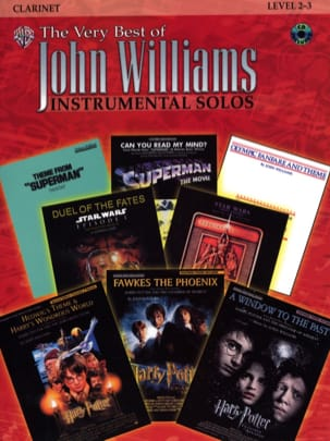 John Williams - The very best of John Williams - Instrumental solos - Partition - di-arezzo.fr