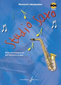 Raymond Alessandrini - Studio Saxo - Partition - di-arezzo.fr