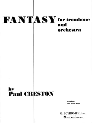 Paul Creston - fantasía - Partitura - di-arezzo.es
