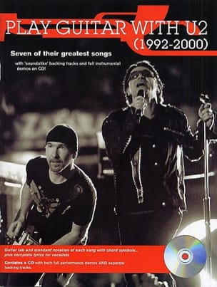 Play Guitar With U2 1992-2000 - U2 - Partition - laflutedepan.com