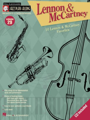 Lennon John / McCartney Paul - Jazz play-along volume 29 - Lennon & Maccartney - Partition - di-arezzo.fr