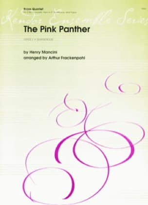 The Pink Panther - MANCINI - Partition - laflutedepan.com