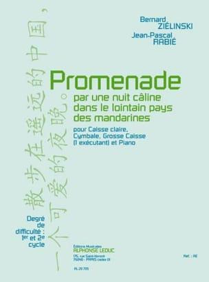 Ziélinski Bernard / Rabié Jean-Pascal - Promenade - Partition - di-arezzo.fr