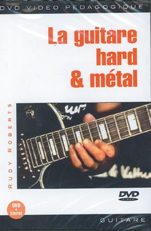 Rudy Roberts - DVD - The Hard Guitar - Metal - Sheet Music - di-arezzo.co.uk
