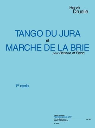 Hervé Druelle - Tango of Jura / Brie Market - Sheet Music - di-arezzo.co.uk