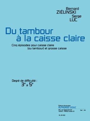 Ziélinski Bernard / Luc Serge - From Drum To Snare Drum - Sheet Music - di-arezzo.com