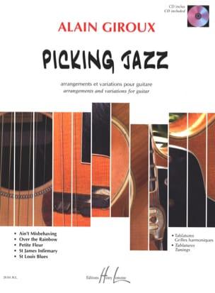 Picking Jazz Alain Giroux Partition Guitare - laflutedepan