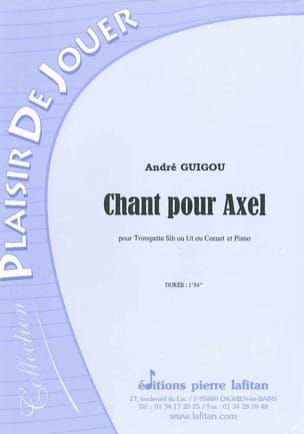 André Guigou - Singing For Axel - Sheet Music - di-arezzo.com