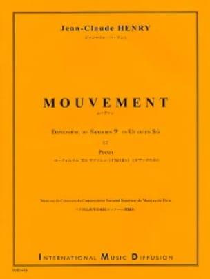 Mouvement - Jean-Claude Henry - Partition - Tuba - laflutedepan.com