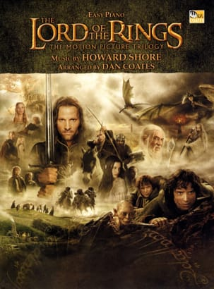 Howard Shore - The Lord of the Rings - Easy Piano - Sheet Music - di-arezzo.co.uk
