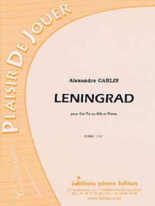 Leningrad Alexandre Carlin Partition Cor - laflutedepan