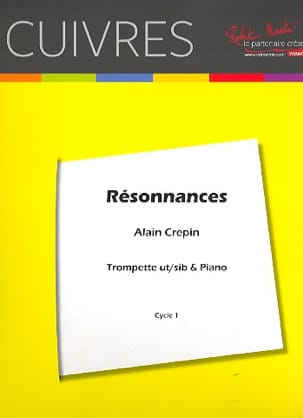 Alain Crepin - resonances - Sheet Music - di-arezzo.co.uk