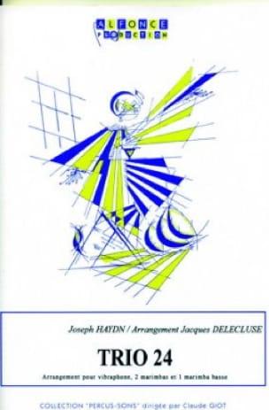 HAYDN - Trio 24 - Partition - di-arezzo.fr