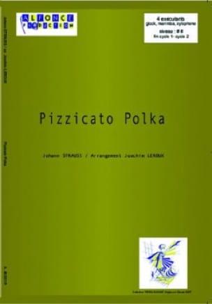 Pizzicato Polka Johann Strauss Partition laflutedepan