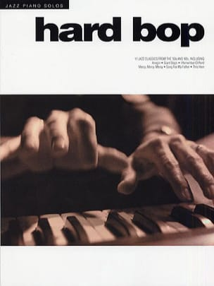 Jazz Piano Solos Series Volume 6 - Hard Bop Partition laflutedepan