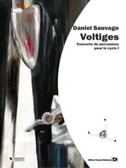 Daniel Sauvage - Voltiges - Partitura - di-arezzo.it