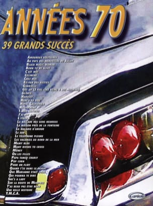 70s - 39 Great successes - Sheet Music - di-arezzo.co.uk