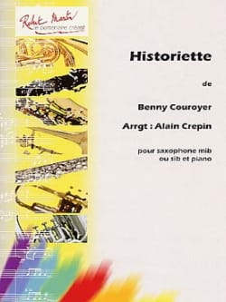 Historiette - Benny Couroyer - Partition - laflutedepan.com