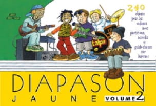 - Diapason Jaune - Volume 2 - Partition - di-arezzo.fr