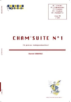 Daniel Sauvage - Cham 'suite N ° 1 - Sheet Music - di-arezzo.co.uk