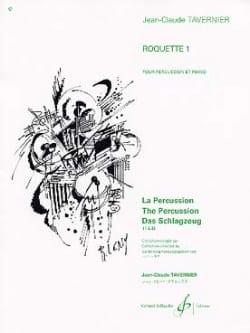 Jean-Claude Tavernier - Roquette 1 - Sheet Music - di-arezzo.com